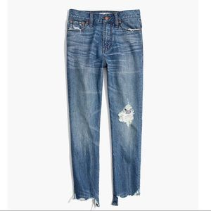 Madewell Perfect Summer Jean Destructed Edition